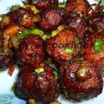 Veg Manchurian (6 Pieces)